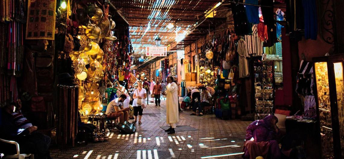 Les souks de Marrakech, cœur battant de la ville ocre